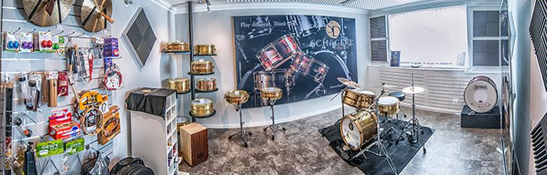 Neu! Schagerl Drums Showroom